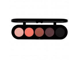Paleta de Sombras T02 - Palette 5 Cores - Make Up Atelier Paris