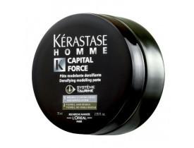 Kérastase Homme Capital Force - Pasta Modeladora Densificadora 75ml