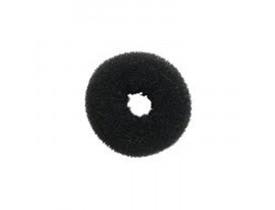 Prendedor de Cabelo - Esponja Donuts Preto (