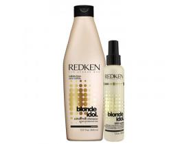 Kit Redken Blonde Idol. (2 produtos)