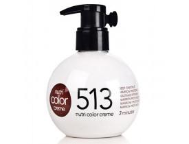 Coloração Creme Revlon Professional Nutri Color Creme 513 Castanho Intenso 250ml