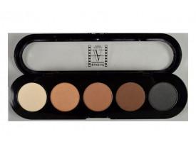Paleta de Sombras T01s - Palette 5 Cores - Make Up Atelier Paris