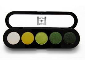 Paleta de Sombras T08 - Palette 5 Cores - Make Up Atelier Paris