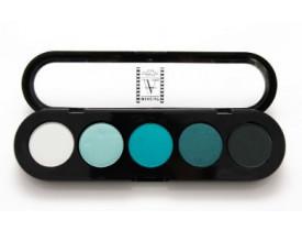 Paleta de Sombras T11 - Palette 5 Cores - Make Up Atelier Paris
