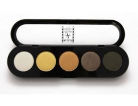 Paleta de Sombras T14 - Palette 5 Cores - Make Up Atelier Paris