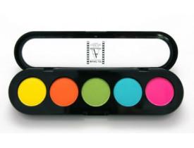 Paleta de Sombras T23 - Palette 5 Cores - Make Up Atelier Paris